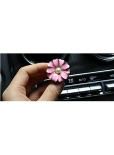 Creative Car Air-Conditioner Outlet Camellia Shape Car Decor Balsam