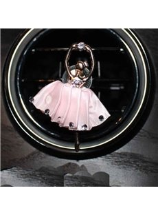 Multicolor For Choice Ballet Girl Shape Car Decor Perfume