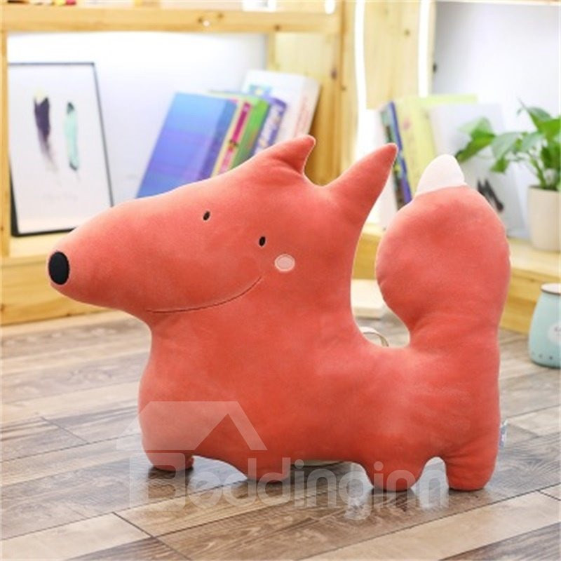 Creative Animal Shape Cartoon Style Funny Soft Plush Toy Throw Pillow