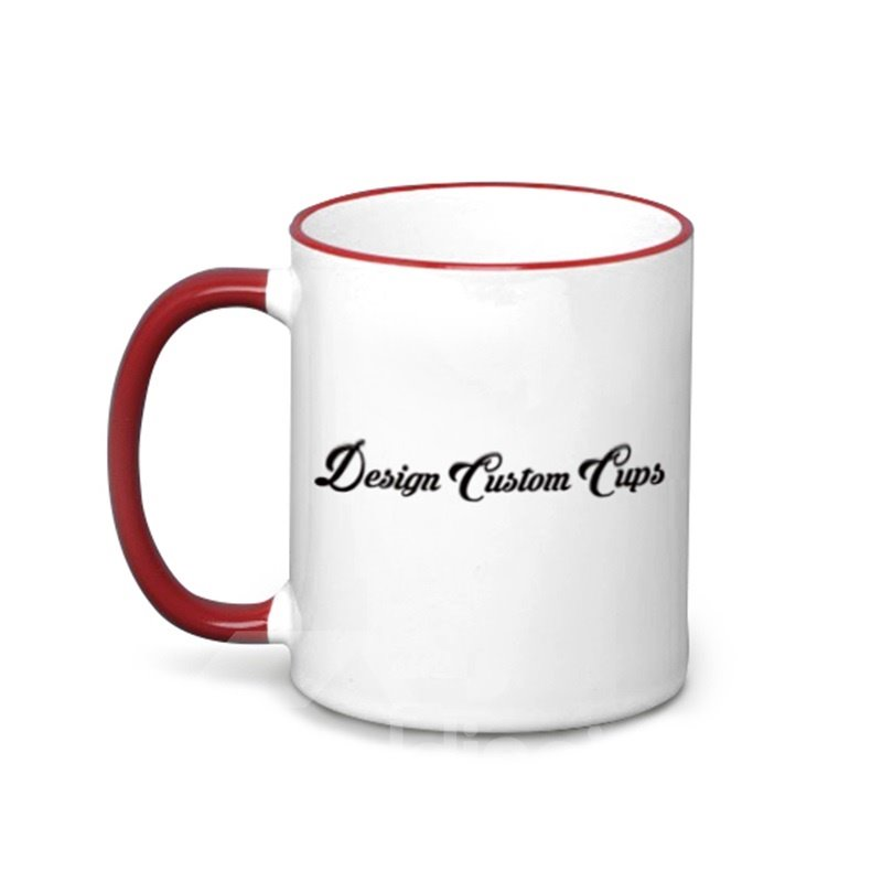 Personal Customization Multicolor For Choice Ceramic Cup With Your Own Picture
