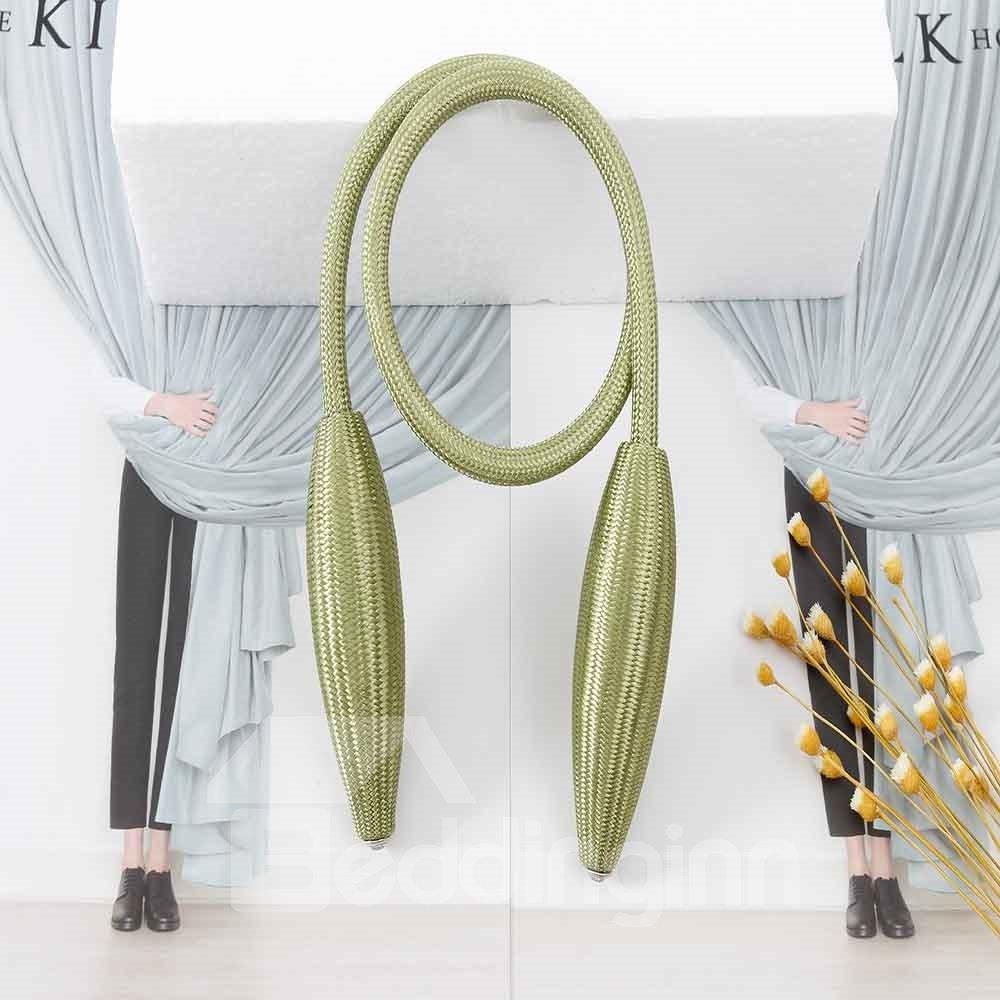 Arbitrary Shape Curtain Tie Backs Durable Random Modeling Drapery/1 Pair
