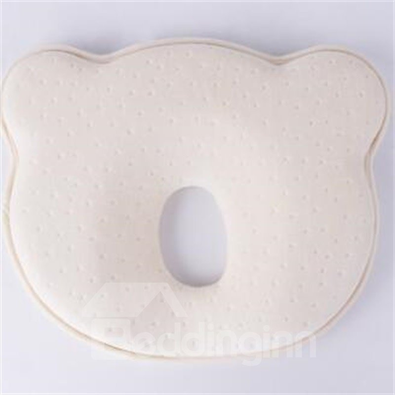 Simple Design Three Colors Option Prevent Flat Head Baby Pillow For Newborn