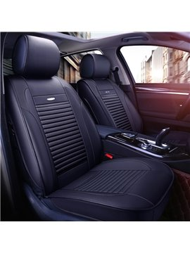 Classic Excellent Leather Simple Style Front Single-seat Car Seat Cover