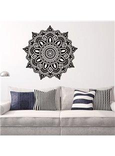 Creative Mandala Pattern Removable Waterproof Home Decor Wall Sticker