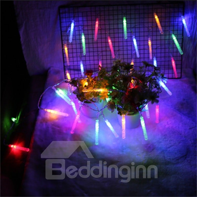 Bubble Column Battery Outdoor Christmas Waterproof LED Lights