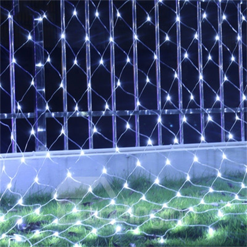 Fishing Net Waterproof Christmas Decoration Plastic LED Lights