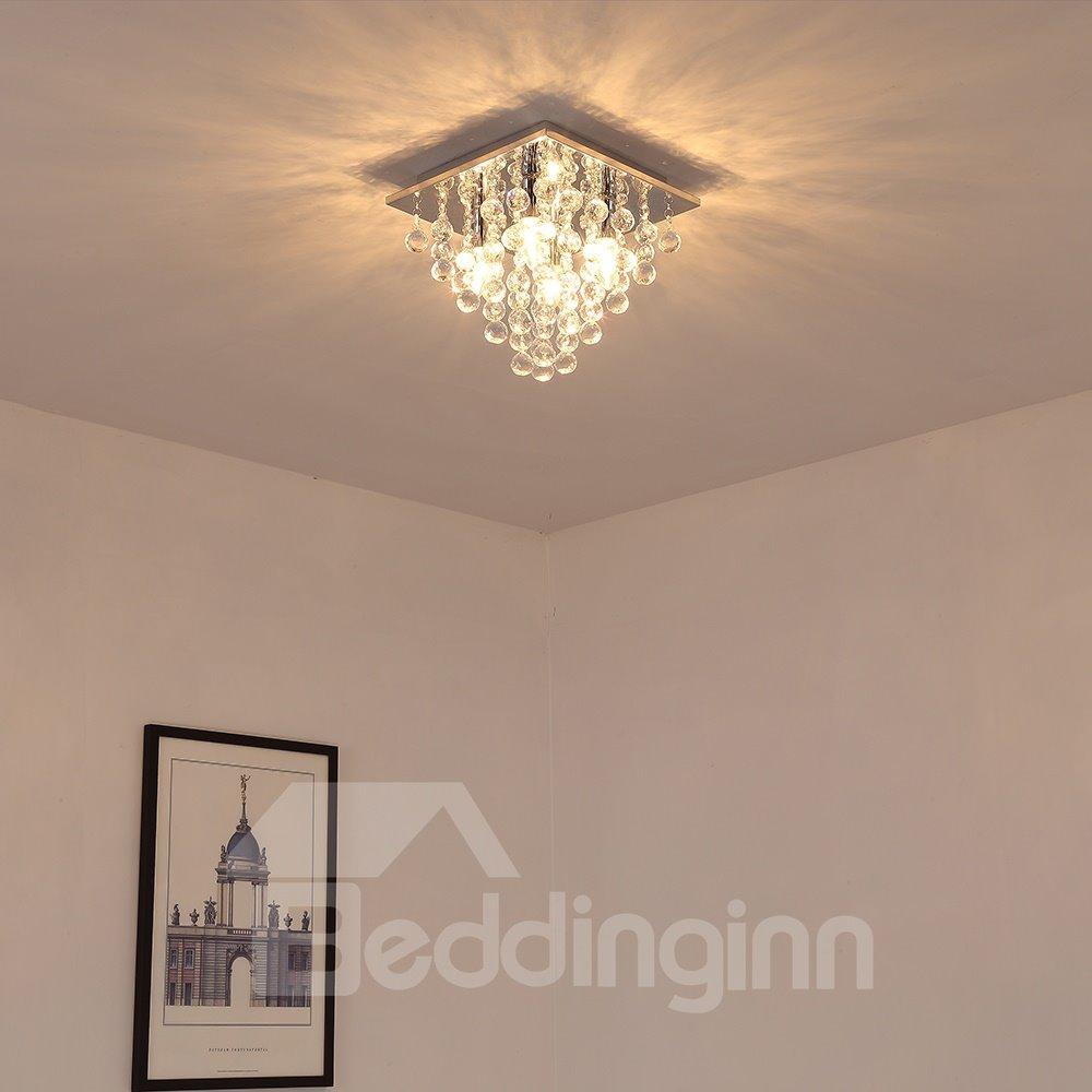 Crystal Modern Style Energy Saving Soft Light Pendant Lights