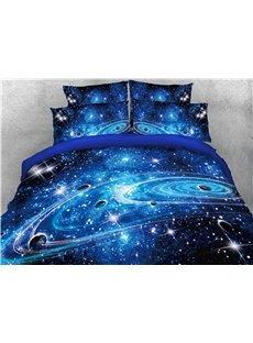 Universe_Planet_Galaxy_Printed_3D_4Piece_Bedding_SetsDuvet_Covers