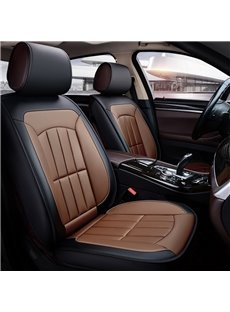 Sport Style PU Leather All Seasons Universal Fit Seat Covers