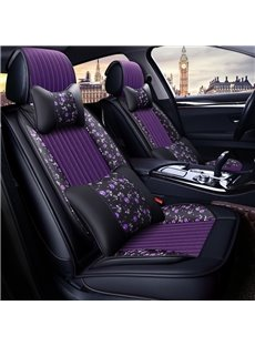PU Leather Rural Style All Seasons Universal Fit Seat Covers