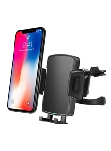 Wireless Quick Vent Bracket Portable Rotation Phone Charger