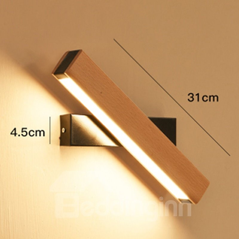 Rotation LED Acrylic Modern Simple Energy Saving Wall Light