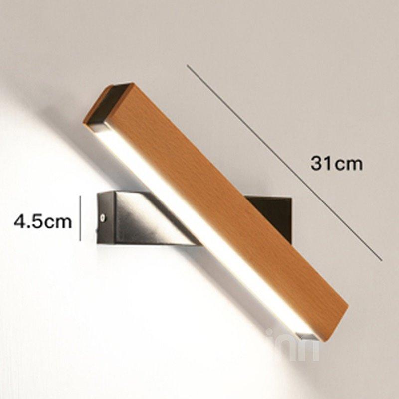 Rotation LED Acrylic Modern Simple Energy Saving Wall Light
