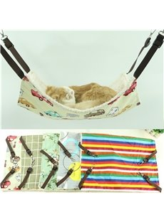 Double Layer Thickened Canvas Cute Cat Hammock