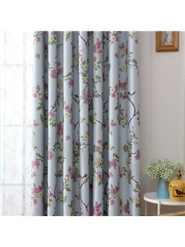 Two Color For Choice Shivering Flower Noise Reducing Shading Kids Curtain