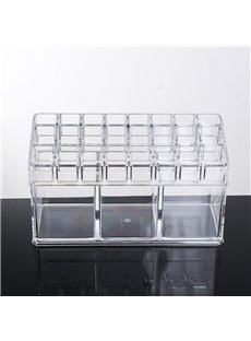 Environment Friendly Acrylic Material 22.5*8.9*13.0cm Storage Box