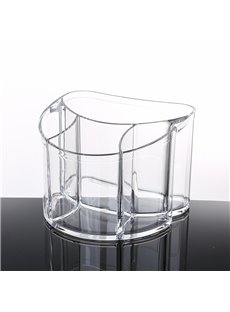 19.9*18.4*14.6cm Acrylic Material Environment Friendly Cosmetic Storage Box