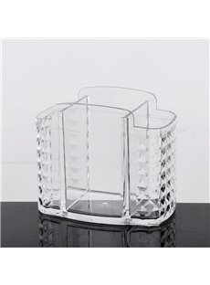 Acrylic Material Environment Friendly 14.2*7.7*12.3cm Cosmetic Storage Box