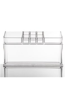 22.5*8.9*13.0cm Acrylic Material Environment Friendly Cosmetic Storage Box