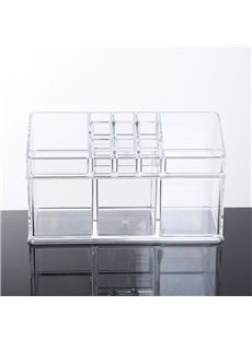 Environment Friendly Acrylic Material 22.5*8.9*13.0cm Cosmetic Storage Box