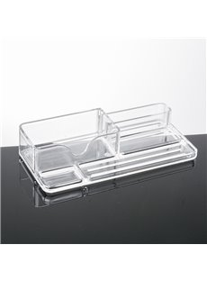 Environment Friendly Acrylic Material 20.1*9.5*4.2cm Cosmetic Storage Box