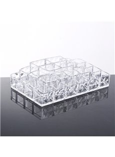 Acrylic Material Environment Friendly 25.7*16.7*5.7cm Cosmetic Storage Box