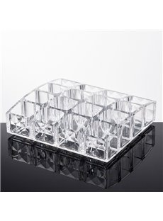 Acrylic Material Environment Friendly 14.2*12.2*3.8cm Cosmetic Storage Box