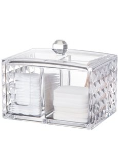 14.4*10.0*11.2cm Acrylic Material Environment Friendly Cosmetic Storage Box