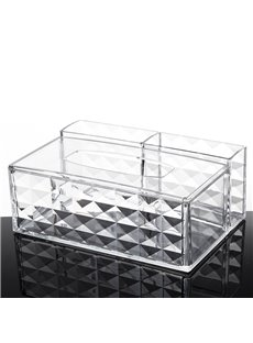 22.9*15.9*9.2cm Environment Friendly Acrylic Material Cosmetic Storage Box
