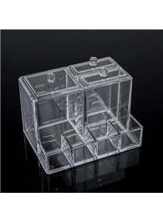 14.0*10.2*10.4cm Environment Friendly Acrylic Material Cosmetic Storage Box