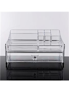 34.3*23.1*17.8cm Environment Friendly Acrylic Material Cosmetic Storage Box