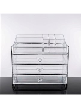 34.3*23.1*30.0cm Environment Friendly Acrylic Material Cosmetic Storage Box