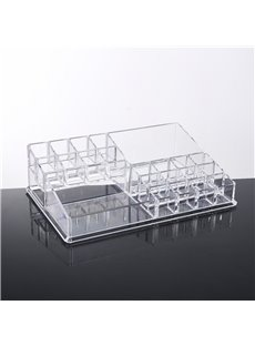 Environment Friendly Acrylic Material 28.0*18.4*7.9cm Cosmetic Storage Box