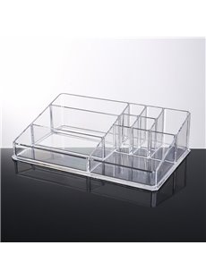 33.0*21.1*9.0cm Environment Friendly Acrylic Material Cosmetic Storage Box