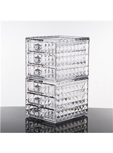 Environment Friendly Acrylic Material 12.0*15.8*11.5cm Cosmetic Storage Box