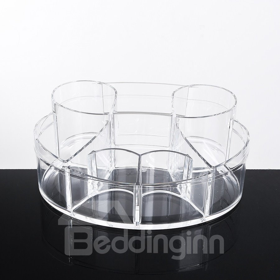 Environment Friendly Acrylic Material 24.5*20.4*8.4cm Cosmetic Storage Box