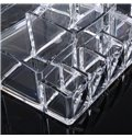 Environment Friendly Acrylic Material 17.1*14.5*8.2cm Cosmetic Storage Box