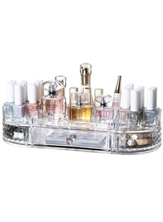 36.6*18.7*8.2cm Environment Friendly Acrylic Material Cosmetic Storage Box