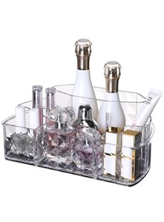 Firm Environment Friendly Acrylic Material 25.5*15.7*10.2cm Cosmetic Storage Box