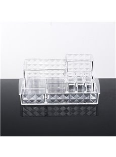 24.0*18.4*8.5cm Firm Environment Friendly Acrylic Material Cosmetic Storage Box