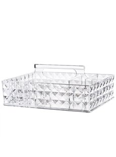 Firm Environment Friendly Acrylic Material 25.4*19.2*10.6cm Cosmetic Storage Box