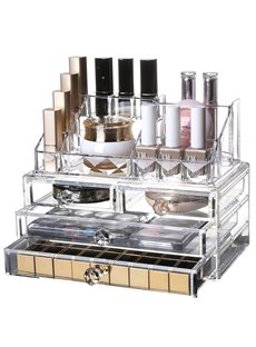 23.9*15.5*18.8cm Sealed Environment Friendly Acrylic Material Cosmetic Storage Box