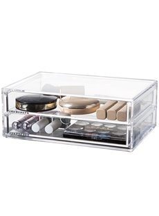 Environment Friendly Acrylic Material 25.5*17.0*9.5cm Cosmetic Storage Box