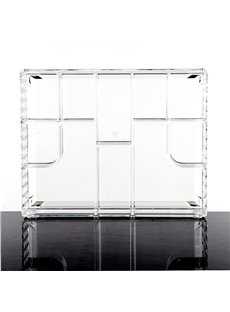 Acrylic Material Environment Friendly 14.3*6.9*25.5cm Cosmetic Storage Box