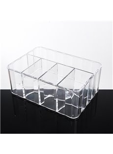 Firm Acrylic Material Environment Friendly 25.6*18.0*10.0cm Cosmetic Storage Box