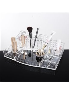 33.4*22.4*8.6cm Environment Friendly Acrylic Material Cosmetic Storage Box