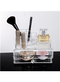 Environment Friendly Acrylic Material 18.7*12.1*11.7cm Cosmetic Storage Box