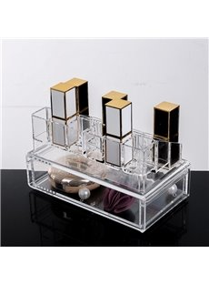 18.7*12.1*10.6cm Environment Friendly Acrylic Material Cosmetic Storage Box