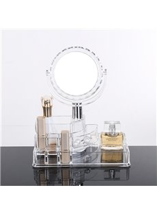 22.3*12.8*25.7cm Firm Environment Friendly Acrylic Material Cosmetic Storage Box