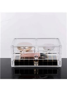 Firm Environment Friendly Acrylic Material 23.9*15.5*10.9cm Cosmetic Storage Box